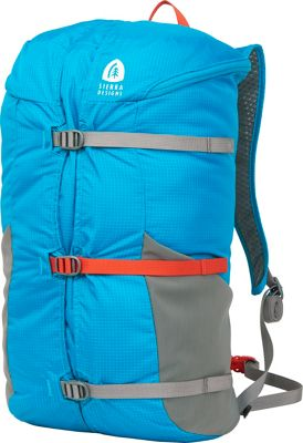 Sierra Designs Flex Summit 18L-23L Hiking Pack Caribbean/Smoked Pearl - Sierra Designs Day Hiking Backpacks