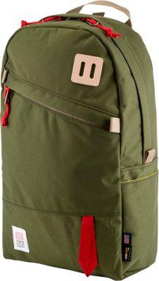 Topo Designs Daypack Laptop Backpack Olive - Topo Designs Laptop Backpacks