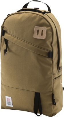 Topo Designs Daypack Laptop Backpack Khaki - Topo Designs Laptop Backpacks