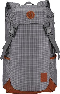 Nixon Trail Backpack II Gray - Nixon Day Hiking Backpacks