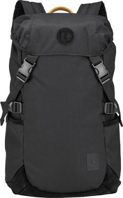 Nixon Trail Backpack II Black / Yellow - Nixon School & Day Hiking Backpacks
