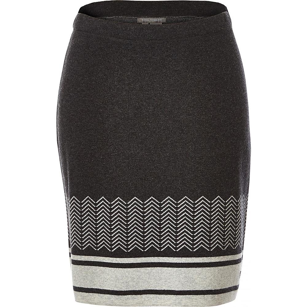 Royal Robbins Womens All Season Merino Skirt S - Charcoal - Royal Robbins Womens Apparel - Apparel & Footwear, Women's Apparel