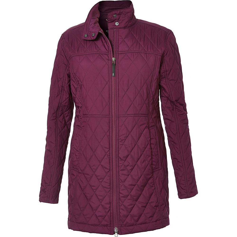 Royal Robbins Womens Roads End Coat S - Potent Purple - Royal Robbins Womens Apparel - Apparel & Footwear, Women's Apparel