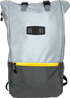 All of Us Rolltop Adventure Laptop Backpack Grey - All of Us Business & Laptop Backpacks