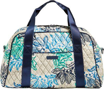 Vera Bradley Compact Sport Bag - Retired Colors Santiago - Vera Bradley Travel Duffels