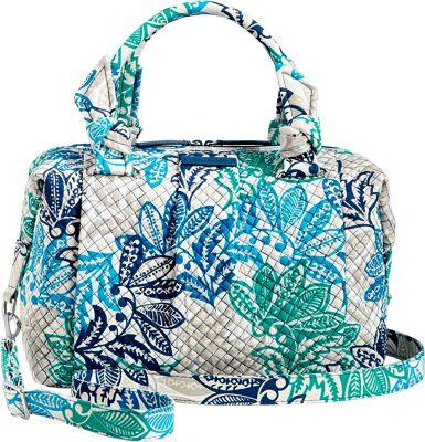Vera Bradley Hadley Satchel - Retired Colors Santiago - Vera Bradley Fabric Handbags
