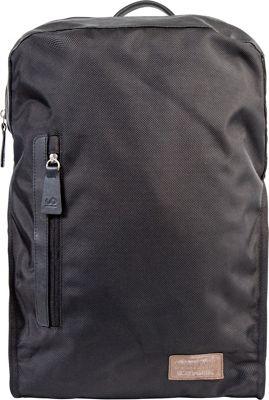 Looptworks Northwest Laptop Backpack Black / Brown - Looptworks Laptop Backpacks