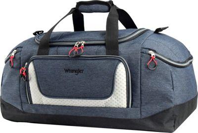 Wrangler 24 inch Multi-Pocket Duffel Navy - Wrangler Travel Duffels