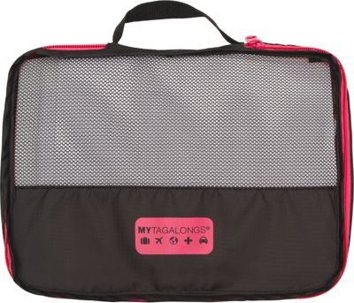 MYTAGALONGS MYTAGALONGS Packing Pods Black/Pink - MYTAGALONGS Travel Organizers