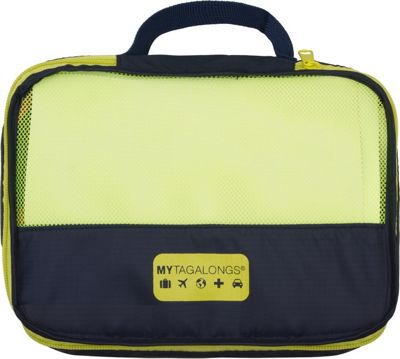 MYTAGALONGS Packing Pods Navy/Lime - MYTAGALONGS Travel Organizers