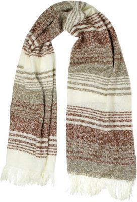 Woolrich Accessories Boucle Plaid Wrap Scarf Canyon - Woolrich Accessories Hats/Gloves/Scarves