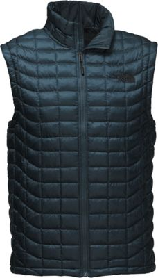 The North Face Mens Thermoball Vest S - Conquer Blue - The North Face Men's Apparel