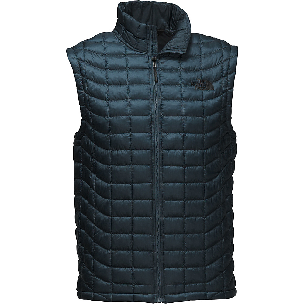 The North Face Mens Thermoball Vest S - Conquer Blue - The North Face Mens Apparel - Apparel & Footwear, Men's Apparel