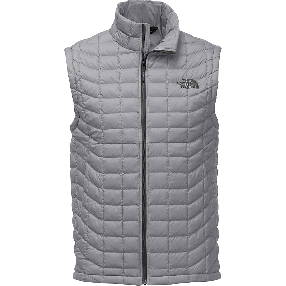 The North Face Mens Thermoball Vest L - Monument Grey Matte - The North Face Mens Apparel - Apparel & Footwear, Men's Apparel