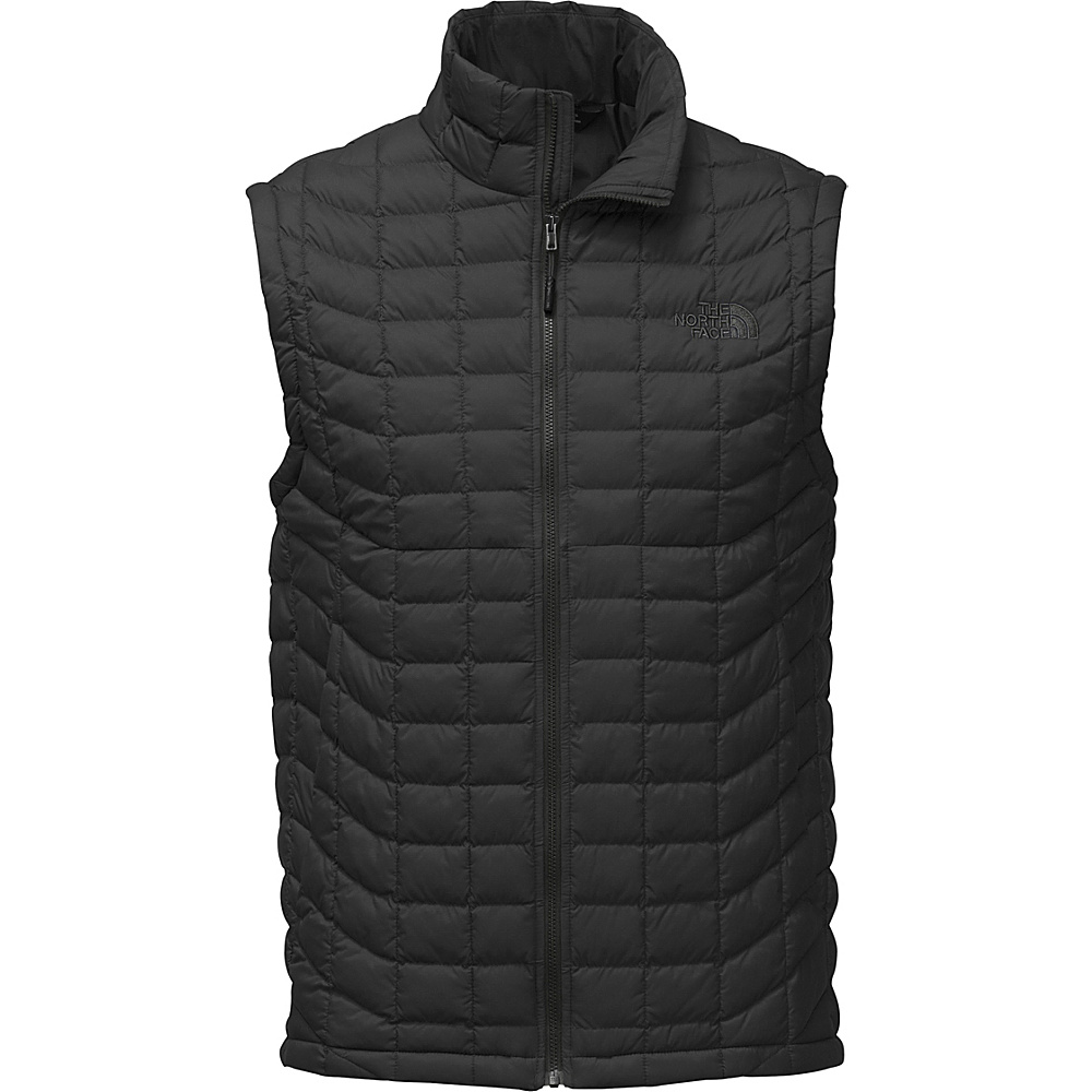 The North Face Mens Thermoball Vest M - TNF Black Matte - The North Face Mens Apparel - Apparel & Footwear, Men's Apparel