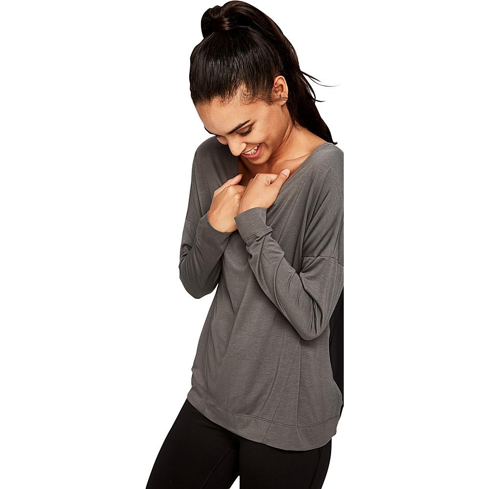 Lole Able Top L - Black Heather - Lole Womens Apparel - Apparel & Footwear, Women's Apparel