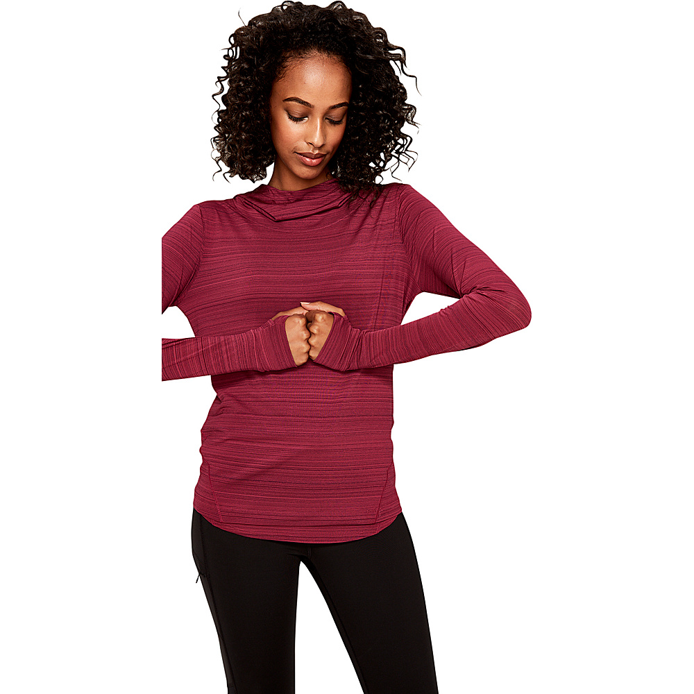 Lole Hunter Top XS - Dark Berry - Lole Womens Apparel - Apparel & Footwear, Women's Apparel