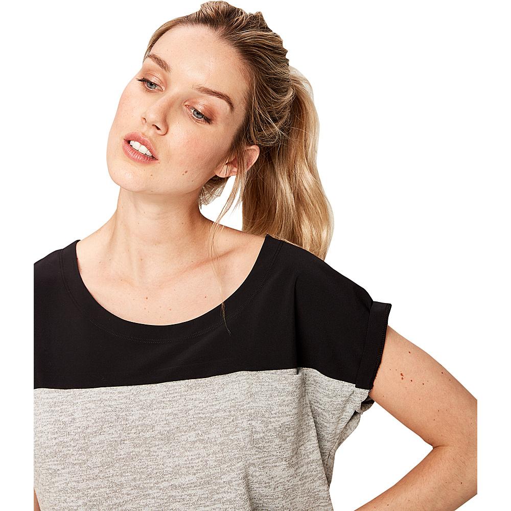 Lole Patsy Top S - Dark Grey Heather - Lole Womens Apparel - Apparel & Footwear, Women's Apparel