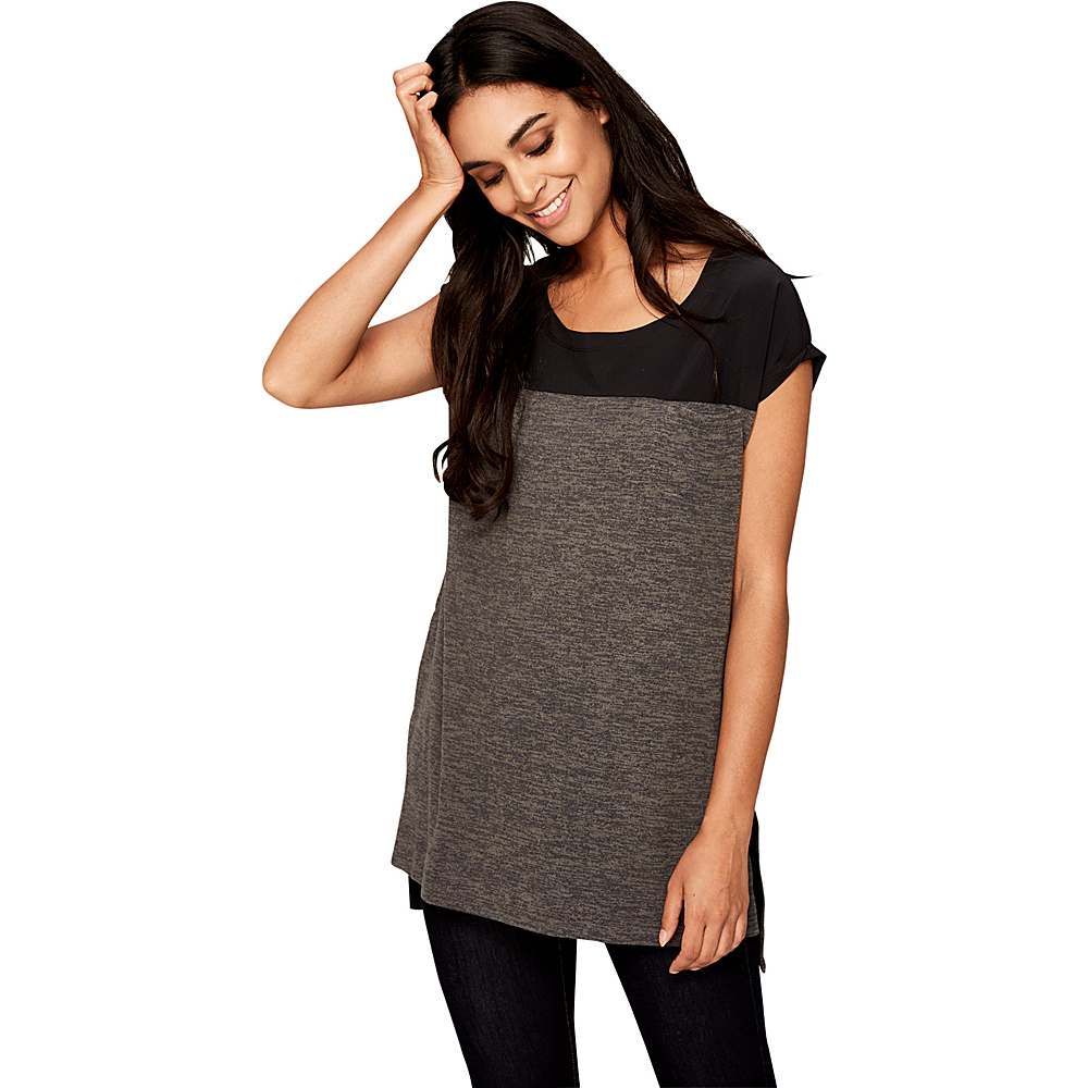 Lole Patsy Top XS - Black Heather - Lole Womens Apparel - Apparel & Footwear, Women's Apparel