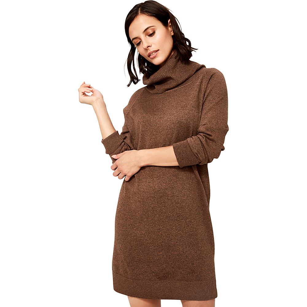 Lole Bianca Dress L - Sepia Heather - Lole Womens Apparel - Apparel & Footwear, Women's Apparel