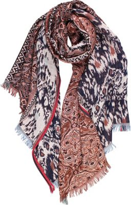 Quagga Green Explorer Tapestry Scarf Rust - Quagga Green Hats/Gloves/Scarves