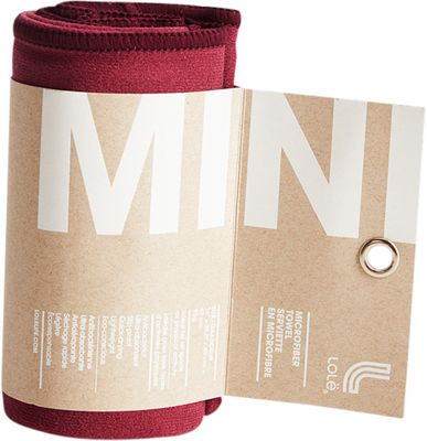 Lole Small Towel Dark Berry - Lole Sports Accessories 10612115
