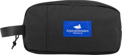 Alpine Division Sherpa Toiletry Kit Black Ripstop - Alpine Division Toiletry Kits