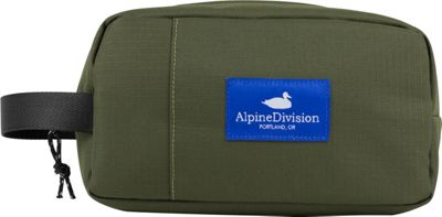 Alpine Division Sherpa Toiletry Kit Green Ripstop - Alpine Division Toiletry Kits