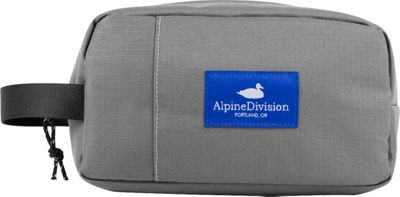 Alpine Division Sherpa Toiletry Kit Grey Ripstop - Alpine Division Toiletry Kits
