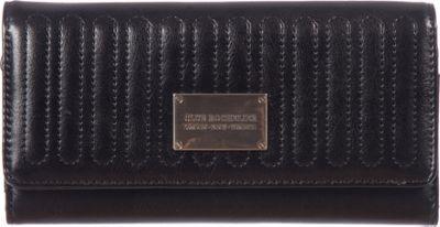 Club Rochelier Slim Clutch Wallet Black - Club Rochelier Women's Wallets