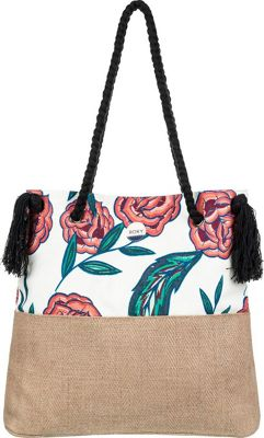 Roxy Gimini Shoulder Bag Marshmallow Mexican - Roxy Straw Handbags