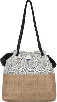 Roxy Gimini Shoulder Bag Marshmallow Watercolor - Roxy Straw Handbags