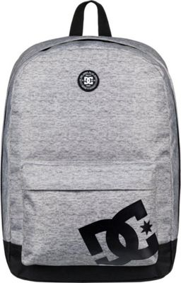 DC Shoes Men's Backstack 18.5L Medium Laptop Backpack Grey Heather - DC Shoes Laptop Backpacks
