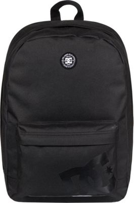 DC Shoes Men's Backstack 18.5L Medium Laptop Backpack Black - DC Shoes Laptop Backpacks