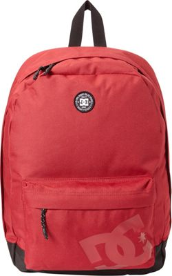 DC Shoes Men's Backstack 18.5L Medium Laptop Backpack Rio Red - DC Shoes Laptop Backpacks