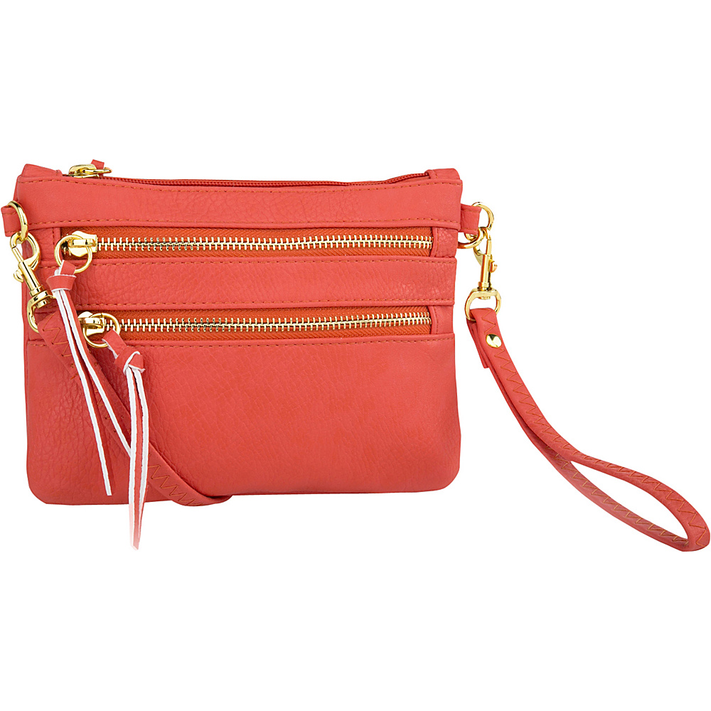 MKF Collection by Mia K. Farrow Carlie Crossbody Orange - MKF Collection by Mia K. Farrow Manmade Handbags - Handbags, Manmade Handbags