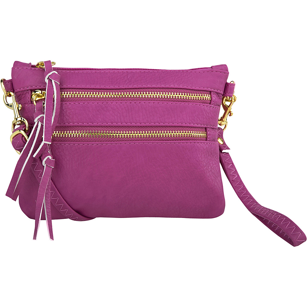 MKF Collection by Mia K. Farrow Carlie Crossbody Pink - MKF Collection by Mia K. Farrow Manmade Handbags - Handbags, Manmade Handbags