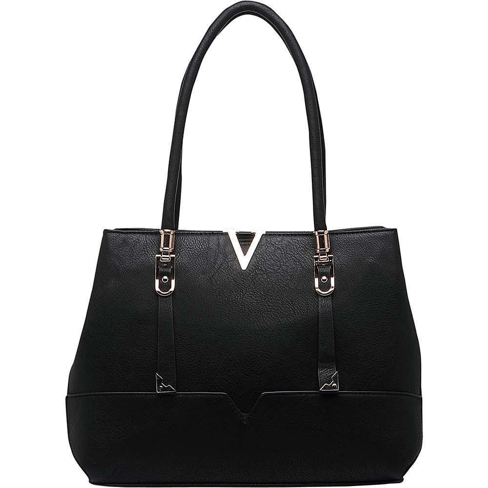 MKF Collection by Mia K. Farrow Flora Shoulder Bag Black - MKF Collection by Mia K. Farrow Manmade Handbags - Handbags, Manmade Handbags