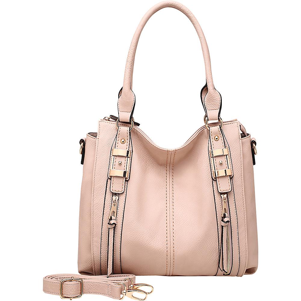 MKF Collection by Mia K. Farrow Blue Eva Hobo Pink - MKF Collection by Mia K. Farrow Manmade Handbags - Handbags, Manmade Handbags
