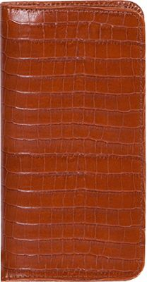 Scully Lizard Embossed Leather Pocket Telephone / Address...