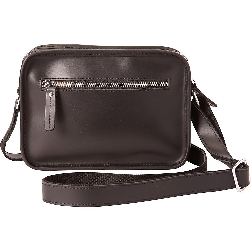 Vagabond Traveler Shoulder Bag Crossbody Black - Vagabond Traveler Leather Handbags - Handbags, Leather Handbags