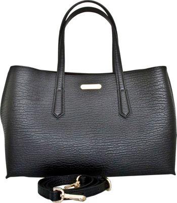 Leatherbay Alia Tote Black - Leatherbay Leather Handbags
