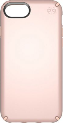 Speck iPhone 8 Presidio Metallic Case Rose Gold Metallic/Dahlia Peach - Speck Electronic Cases