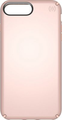 Speck iPhone 8 Plus Presidio Metallic Case Rose Gold Metallic/Dahlia Peach - Speck Electronic Cases