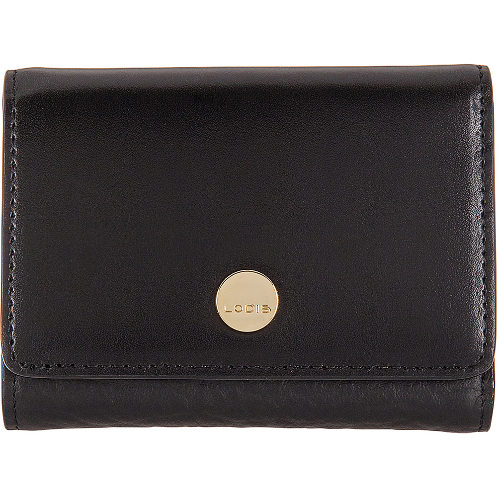 Lodis In The Mix RFID Mallory French Purse Jet - Lodis Womens Wallets - Women's SLG, Women's Wallets