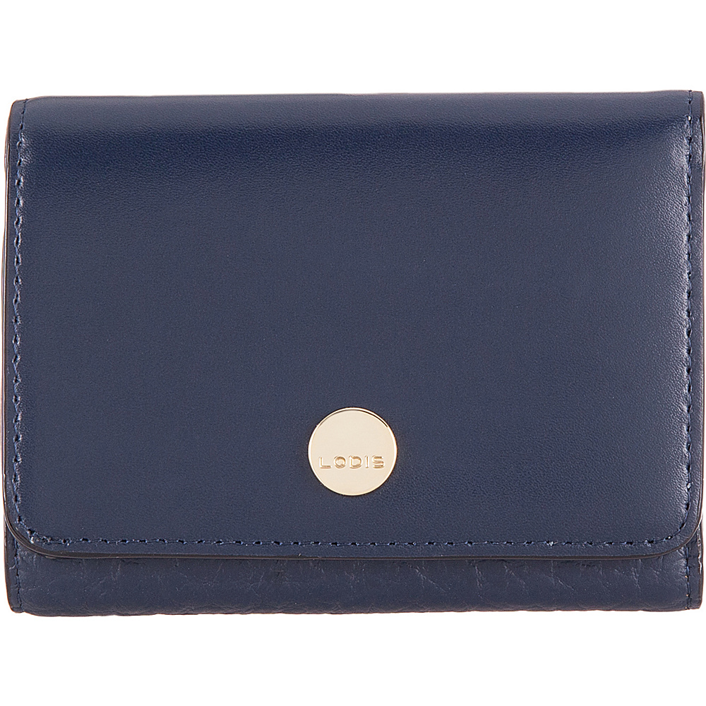 Lodis In The Mix RFID Mallory French Purse Navy - Lodis Womens Wallets - Women's SLG, Women's Wallets