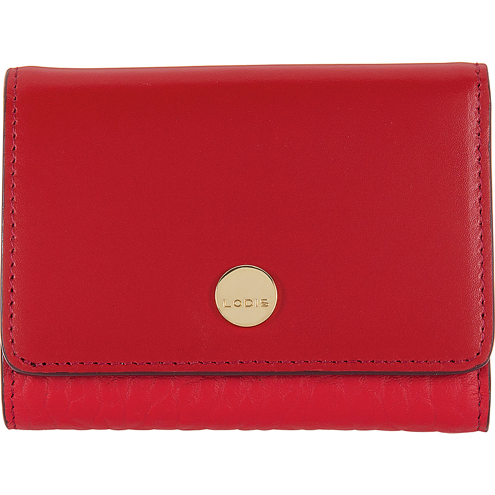 Lodis In The Mix RFID Mallory French Purse Red - Lodis Womens Wallets - Women's SLG, Women's Wallets