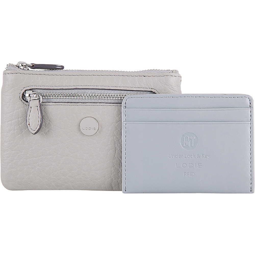Lodis In The Mix RFID Bev Card Key Coin Cement - Lodis Womens Wallets - Women's SLG, Women's Wallets