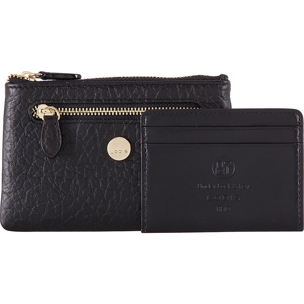Lodis In The Mix RFID Bev Card Key Coin Jet - Lodis Womens Wallets - Women's SLG, Women's Wallets