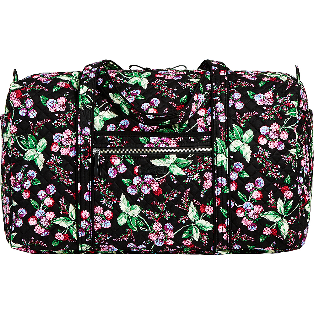 Vera Bradley Iconic Large Travel Duffel Winter Berry - Vera Bradley Travel Duffels - Duffels, Travel Duffels